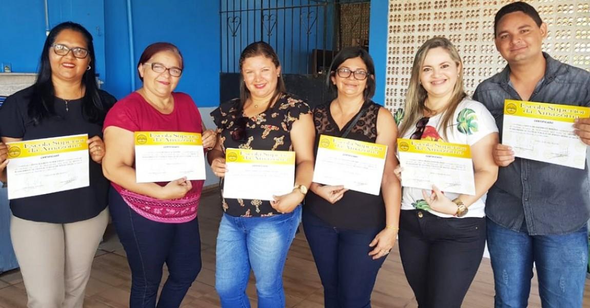 Pós-graduação da Esamaz faz entrega de certificados nos municípios de Capanema e São Miguel do Guamá
